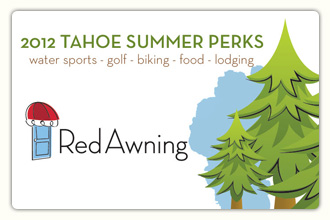 2012 Tahoe Summer Perks Card