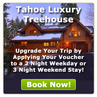 Tahoe Luxury Treehouse - Will Honor a $265 Voucher for a 2 night weekday stay or 3 night weekend stay!