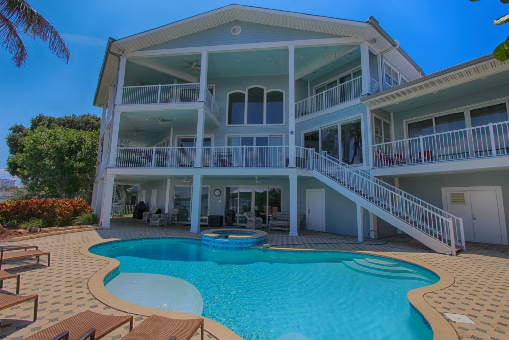 Exceptional Luxury Beach House Rentals Florida Part - 9: Beachcomberu0027s Luxury House Vacation Rental In Clearwater Area - RedAwning  ...