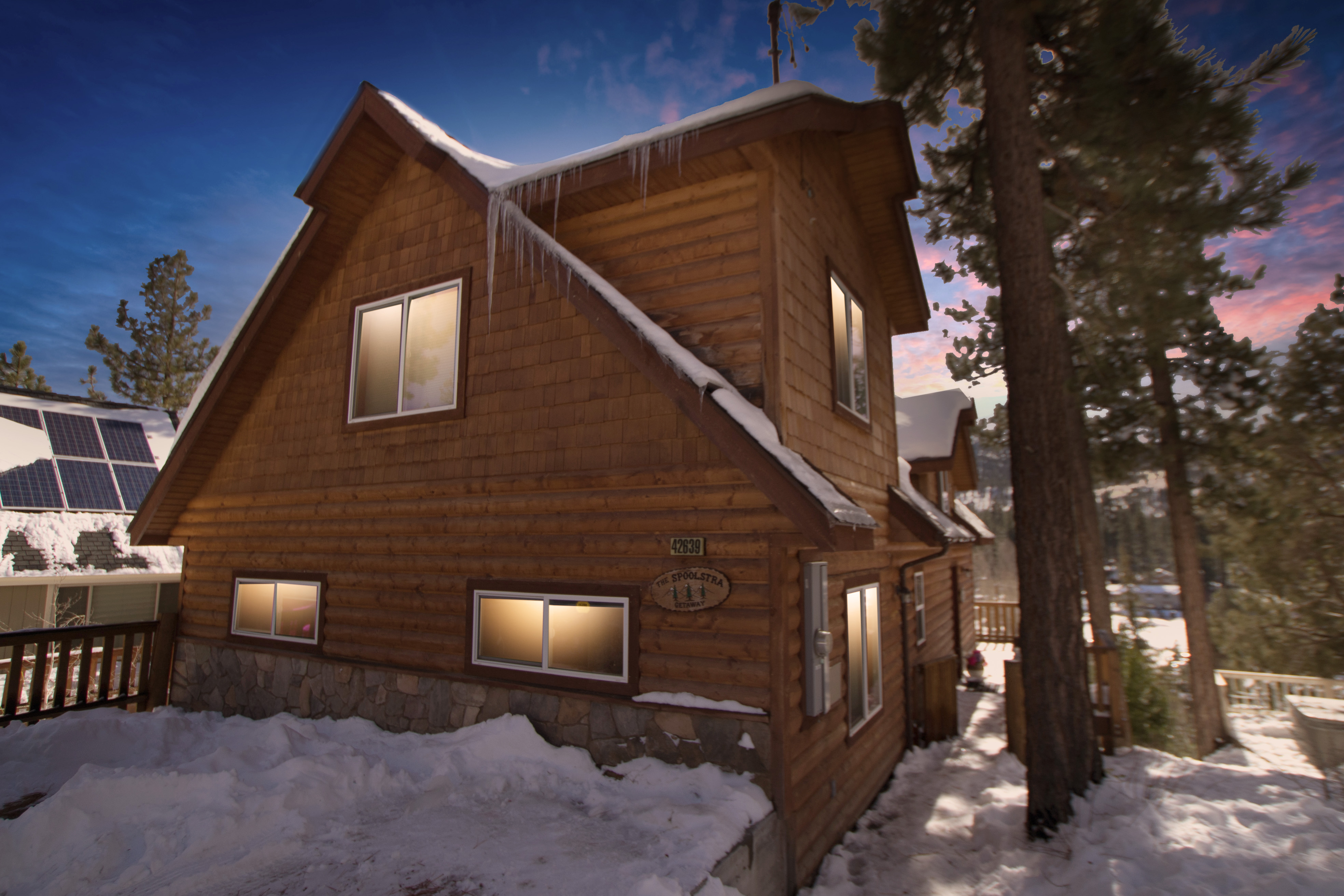 cabin in housekeeping country cabins rentals for ontario canada big rent bear sunset cheap