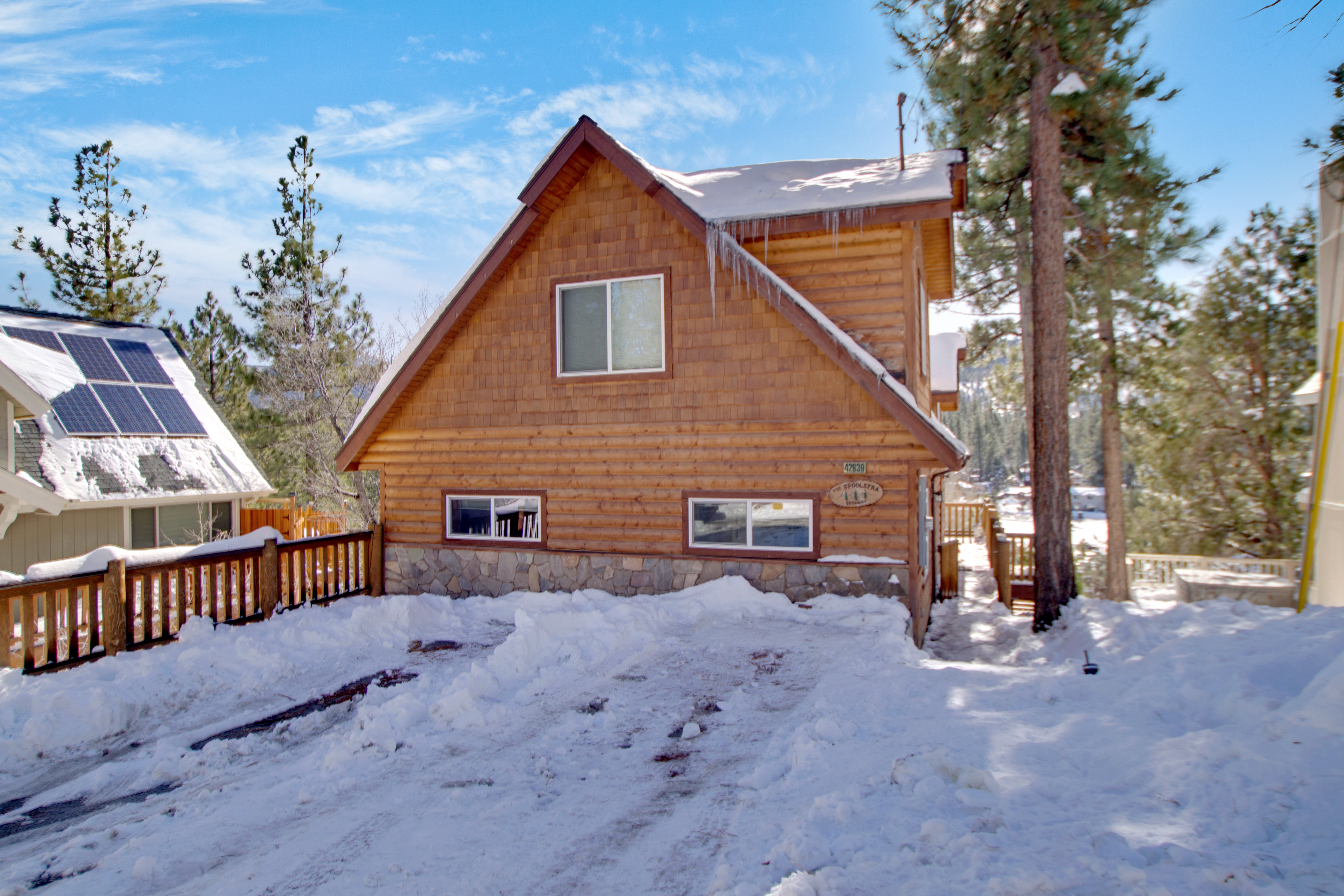 hunter bear lodge accommodations ca cabins rental in vacation hunters s california rent big for