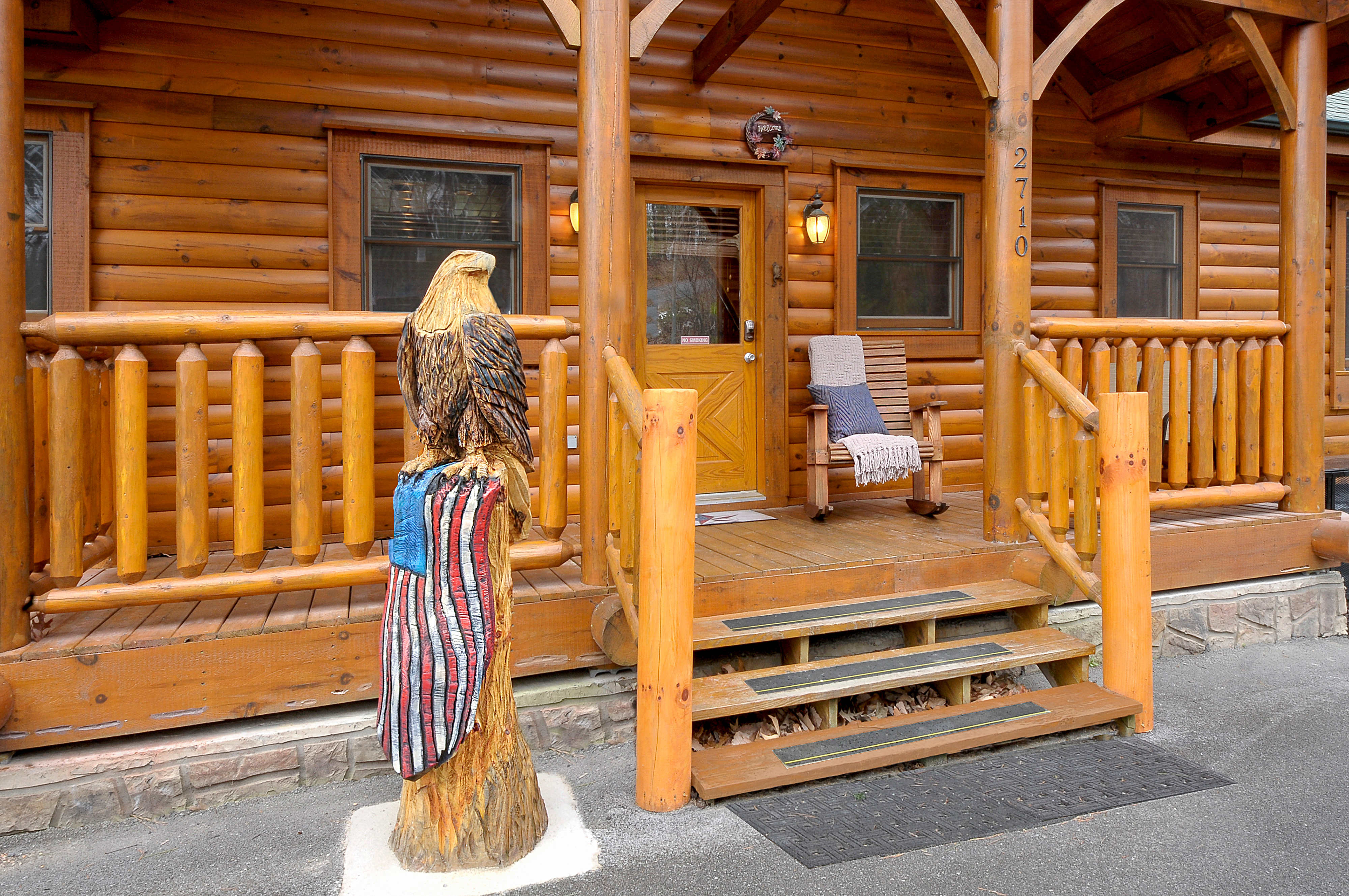 american to riverfront rentals pigeon cabin two forge convenient cabins bedroom vacation rental