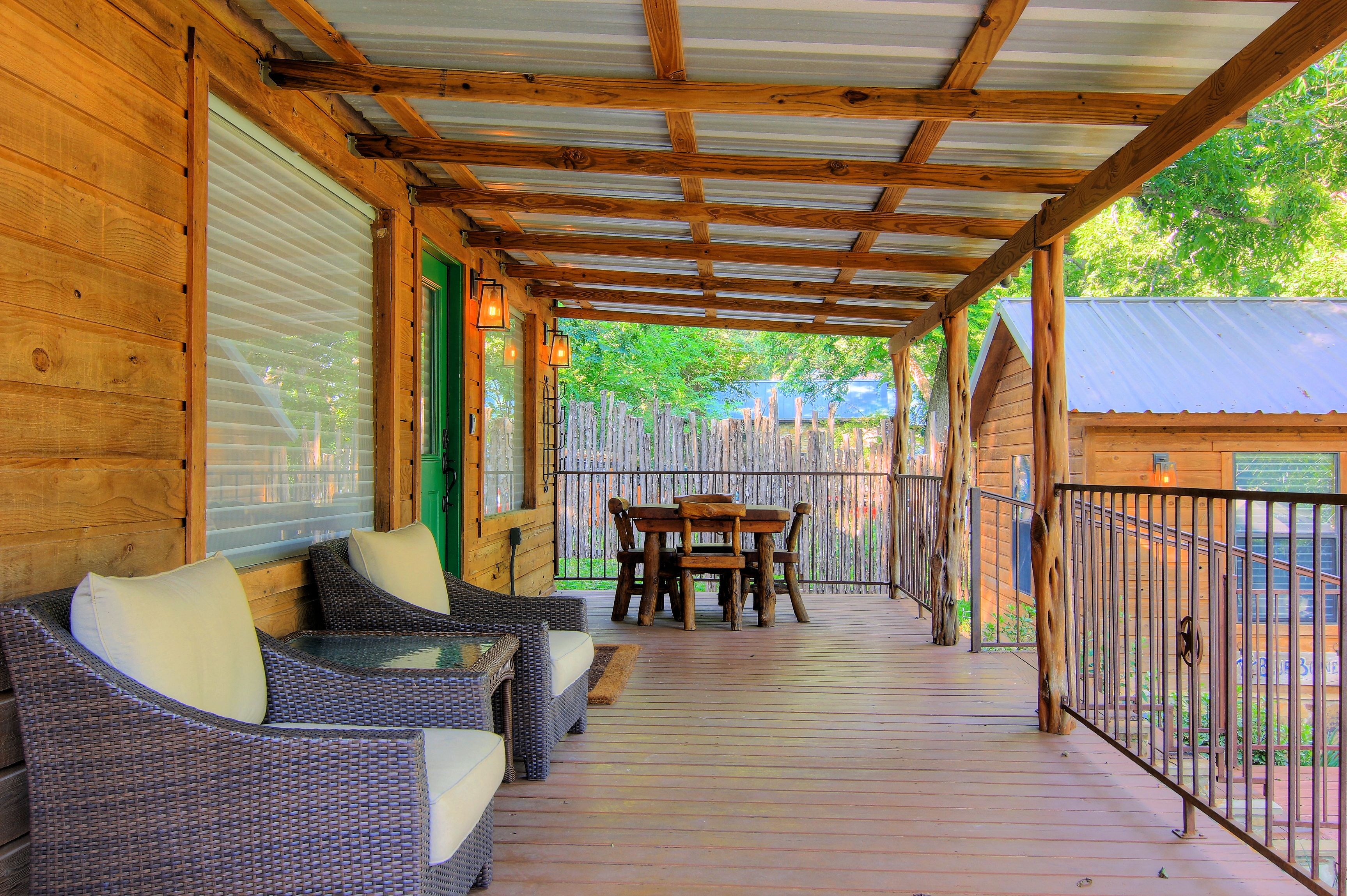 new from braunfels rentals mulberry img cabin cabins the schlitterbahn haus tour view porch resort