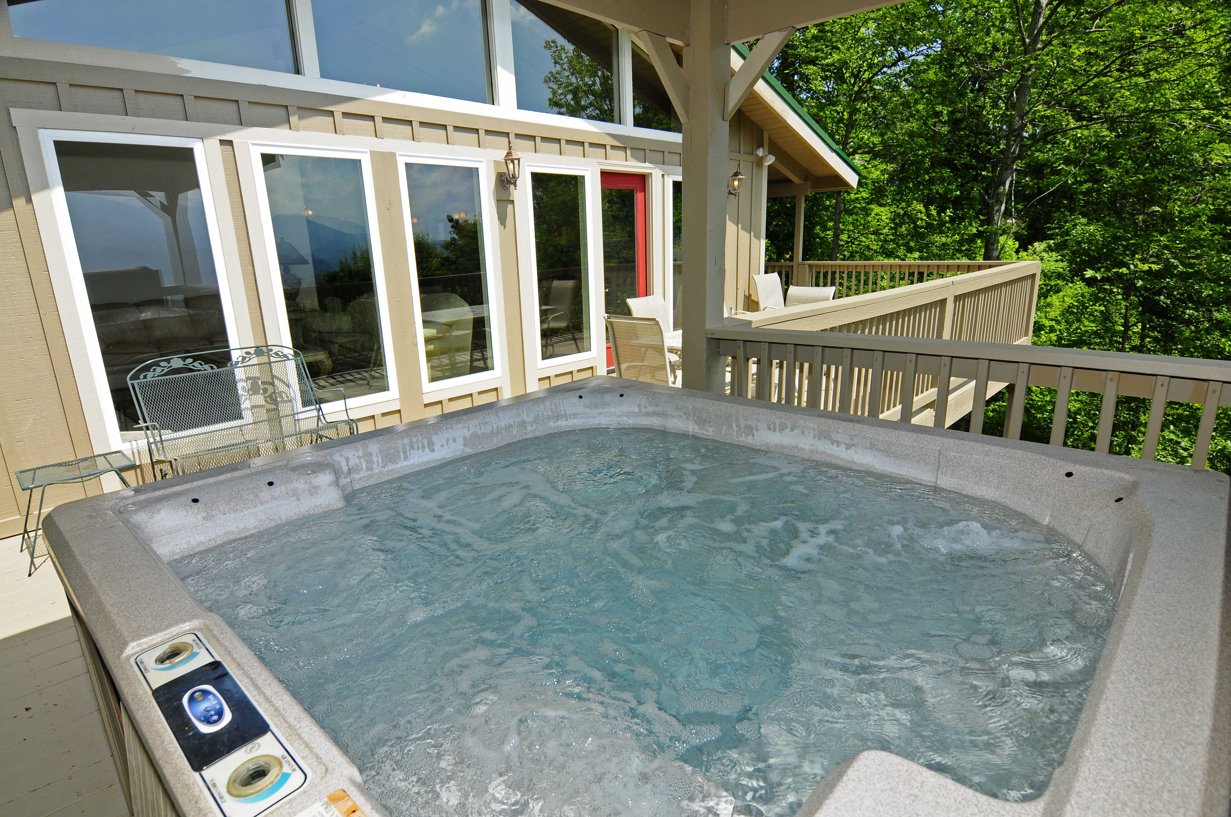 bedroom cabins cabin a hideaway mountain gatlinburg pool tn private in tennessee with