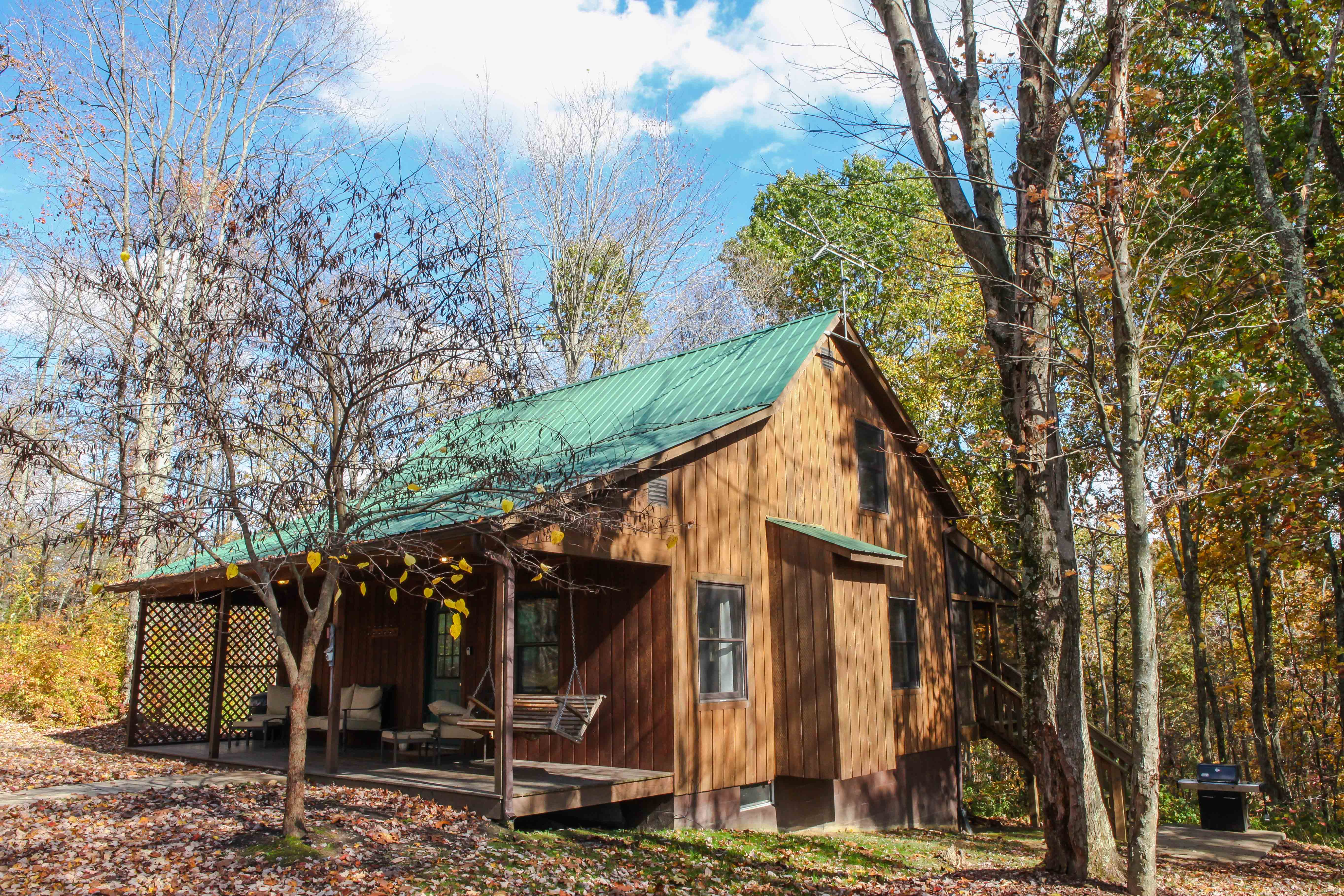 rentals hocking kool breeze cabins hills in availability check ohio cabin