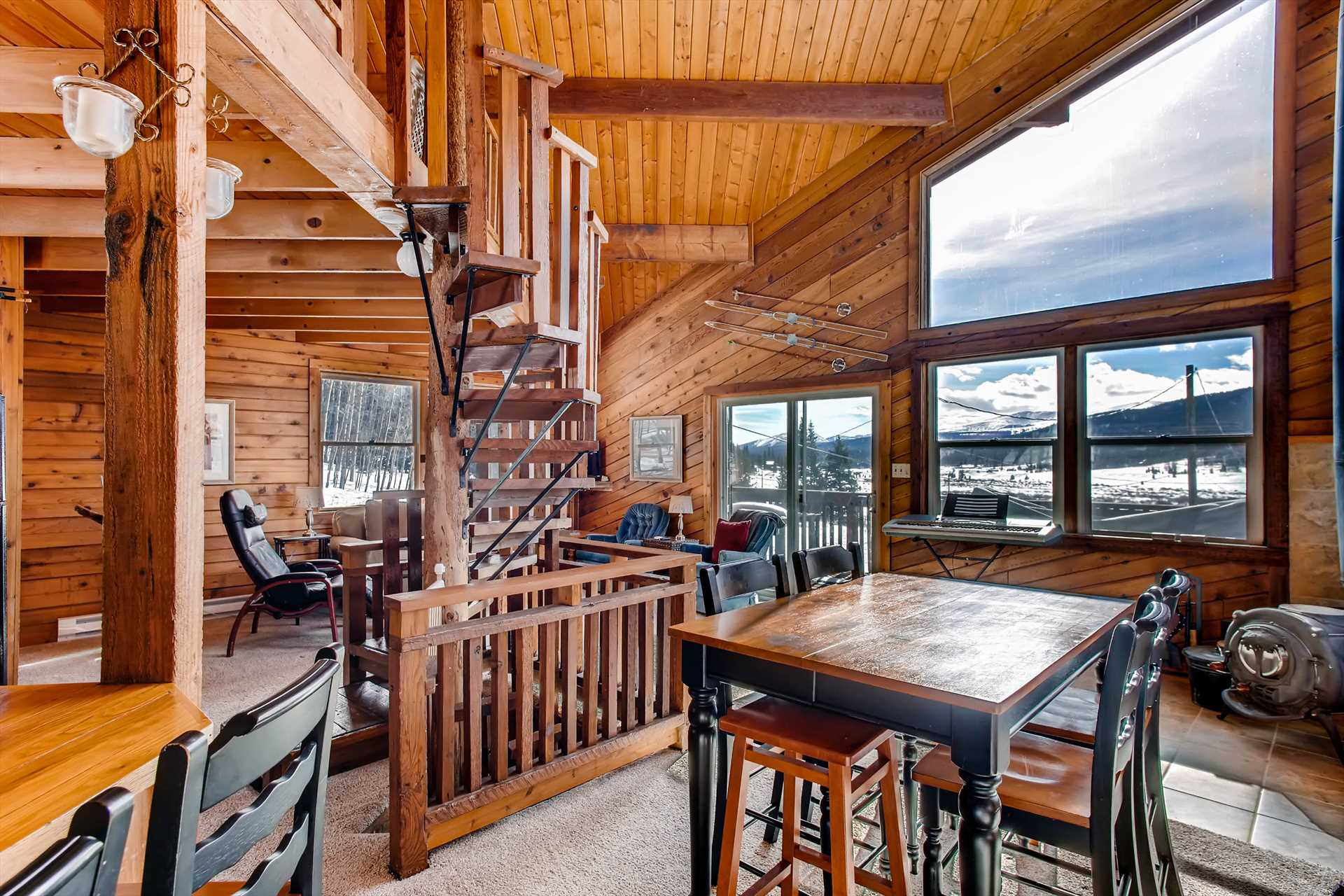 cabin in property epic rental vacation log colorado cabins dillon pines the redawning