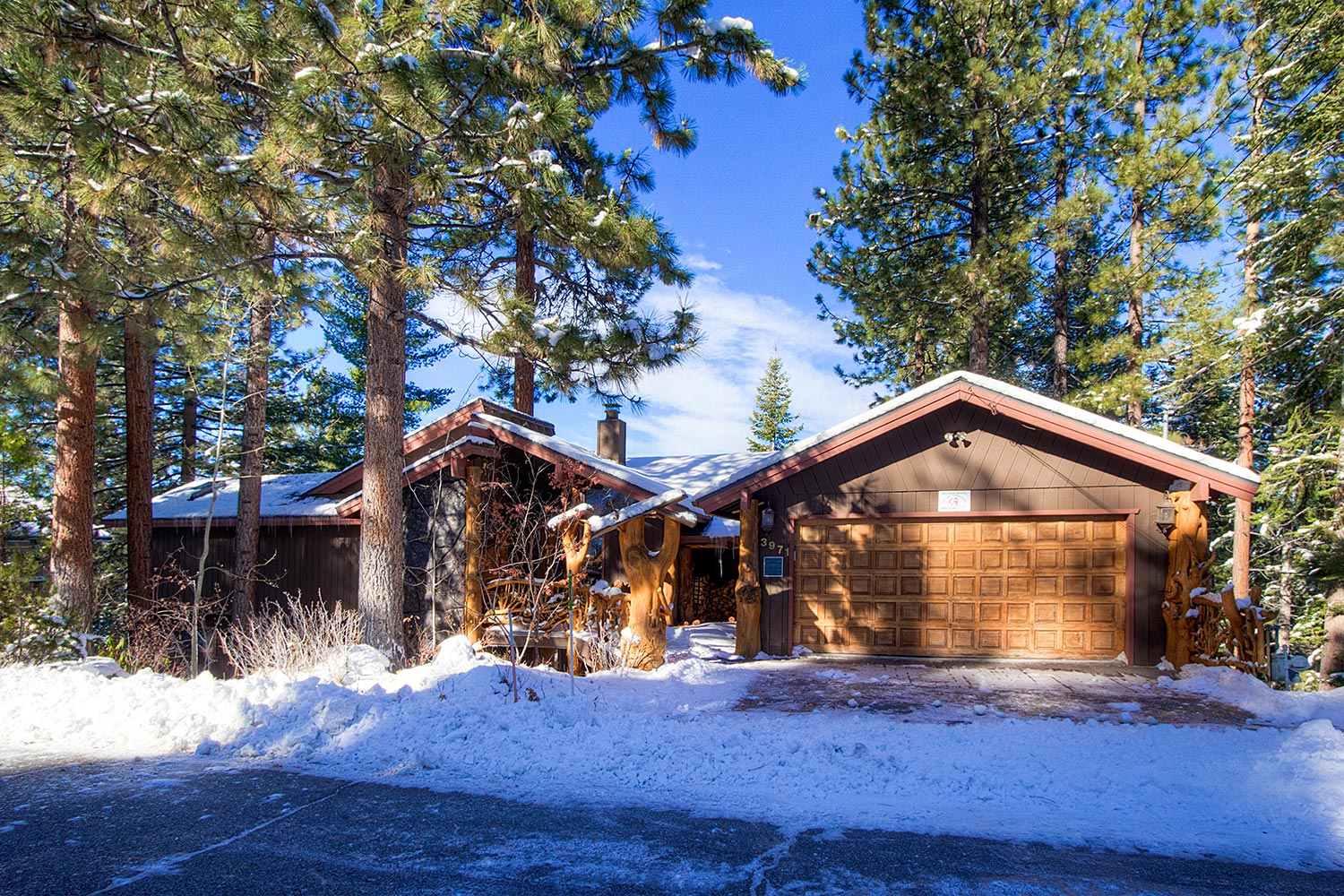 Heavenly tree house at lake tahoe ra45084 redawning Rent a cabin in lake tahoe ca