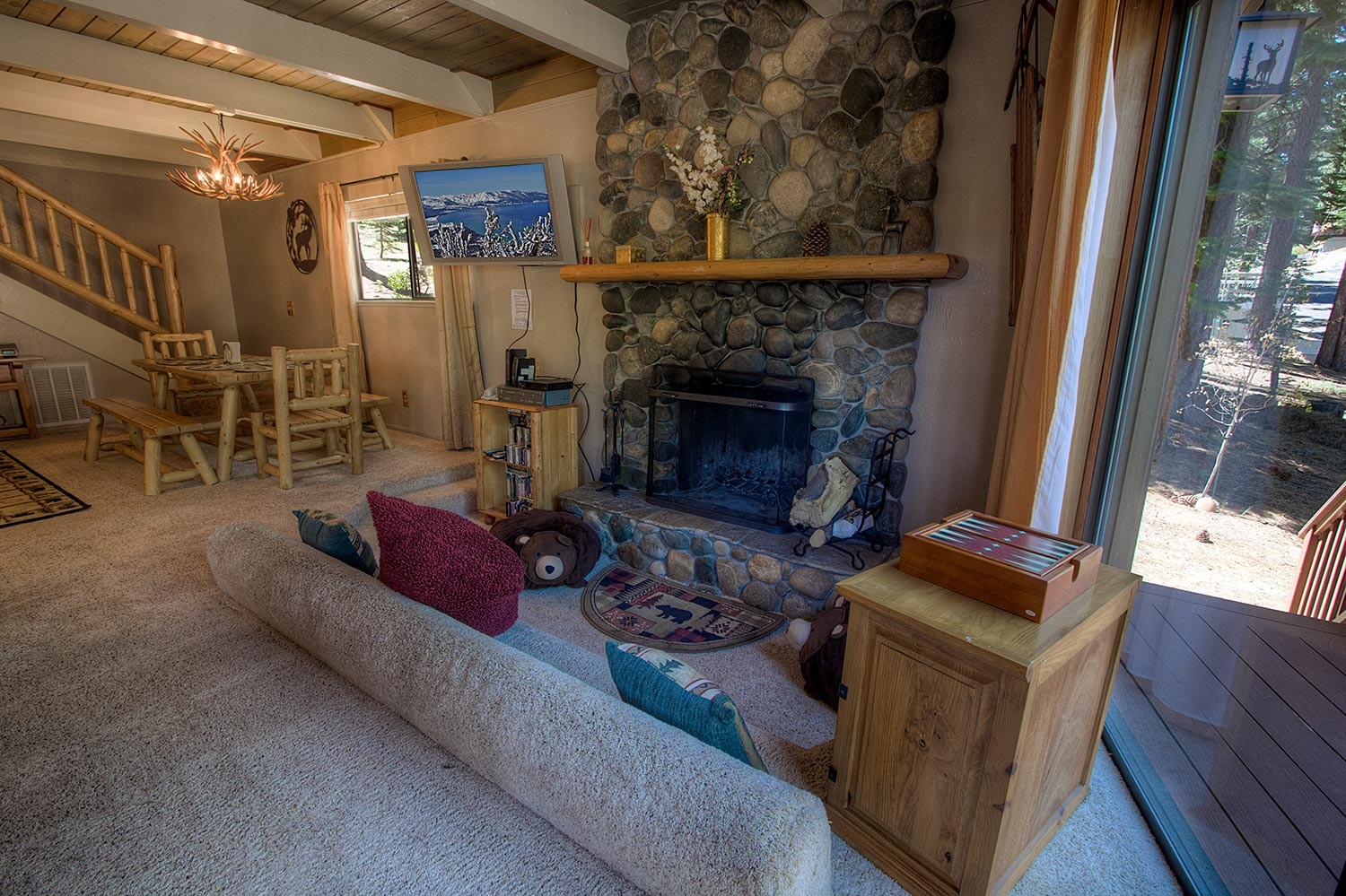 rent ca harrison lake slt management property rental tour cabins tahoe suite long looking term in ave a for