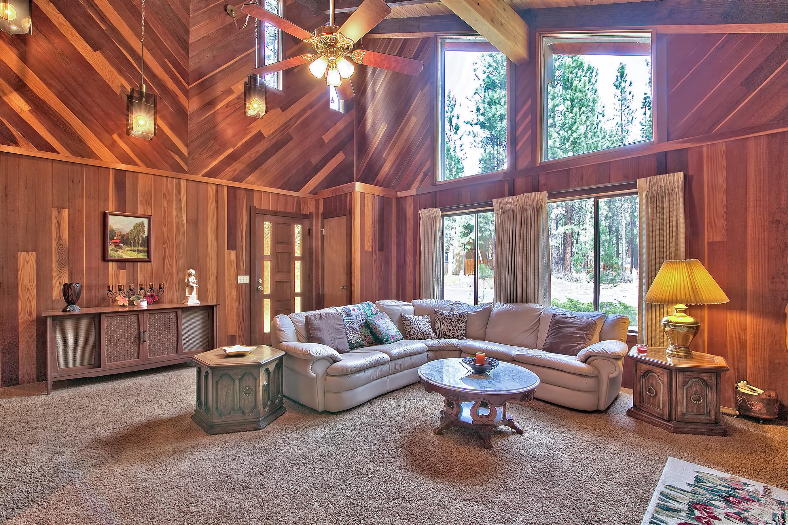 Angora cabin 1338al ra49367 redawning for Rent lake tahoe cabin