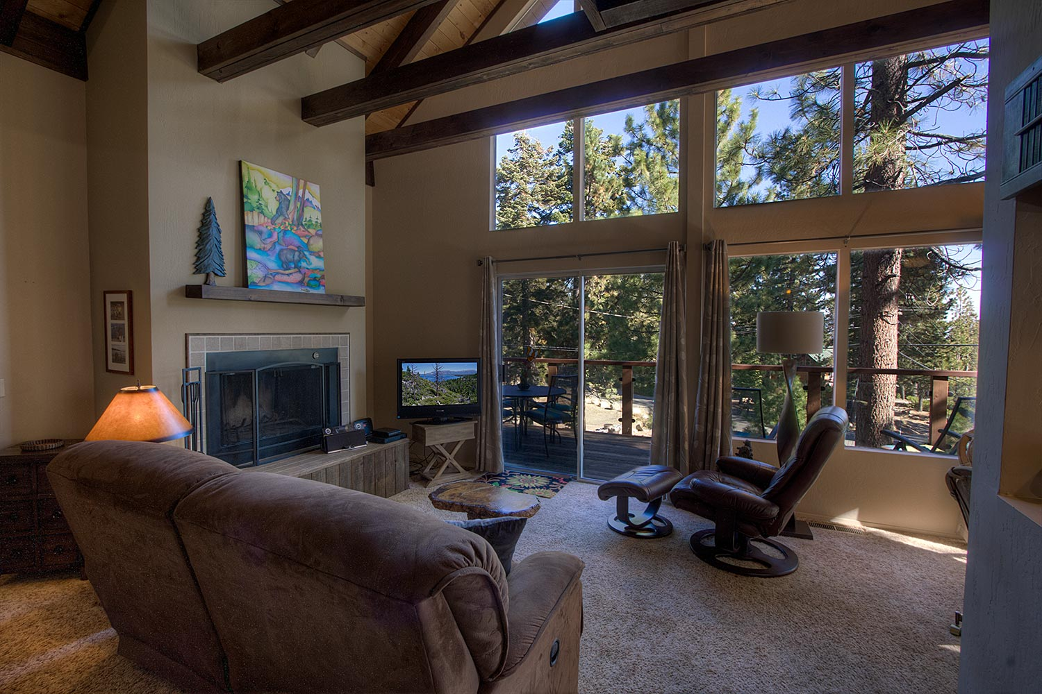 Pet Friendly Cute Cabin Located In Meeks Bay With A Partial Lakeview  Vacation Rental In Tahoma