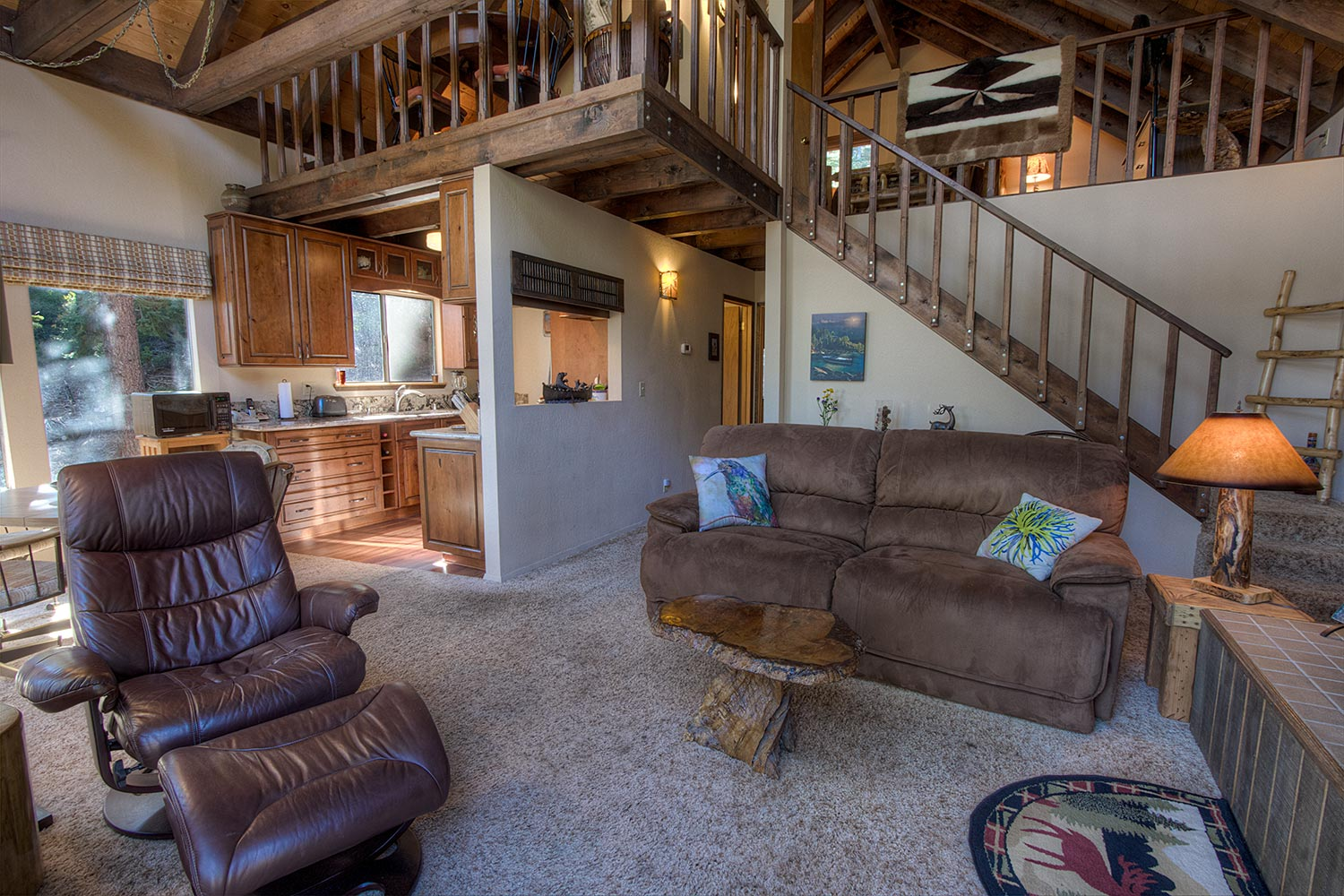 Superbe Pet Friendly Cute Cabin Located In Meeks Bay With A Partial Lakeview  Vacation Rental In Tahoma