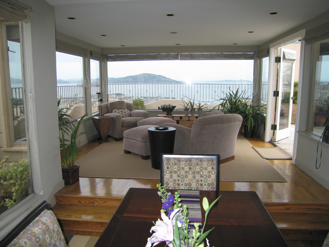 Ocean view terrace ra64 redawning for Vacation rentals san francisco bay area