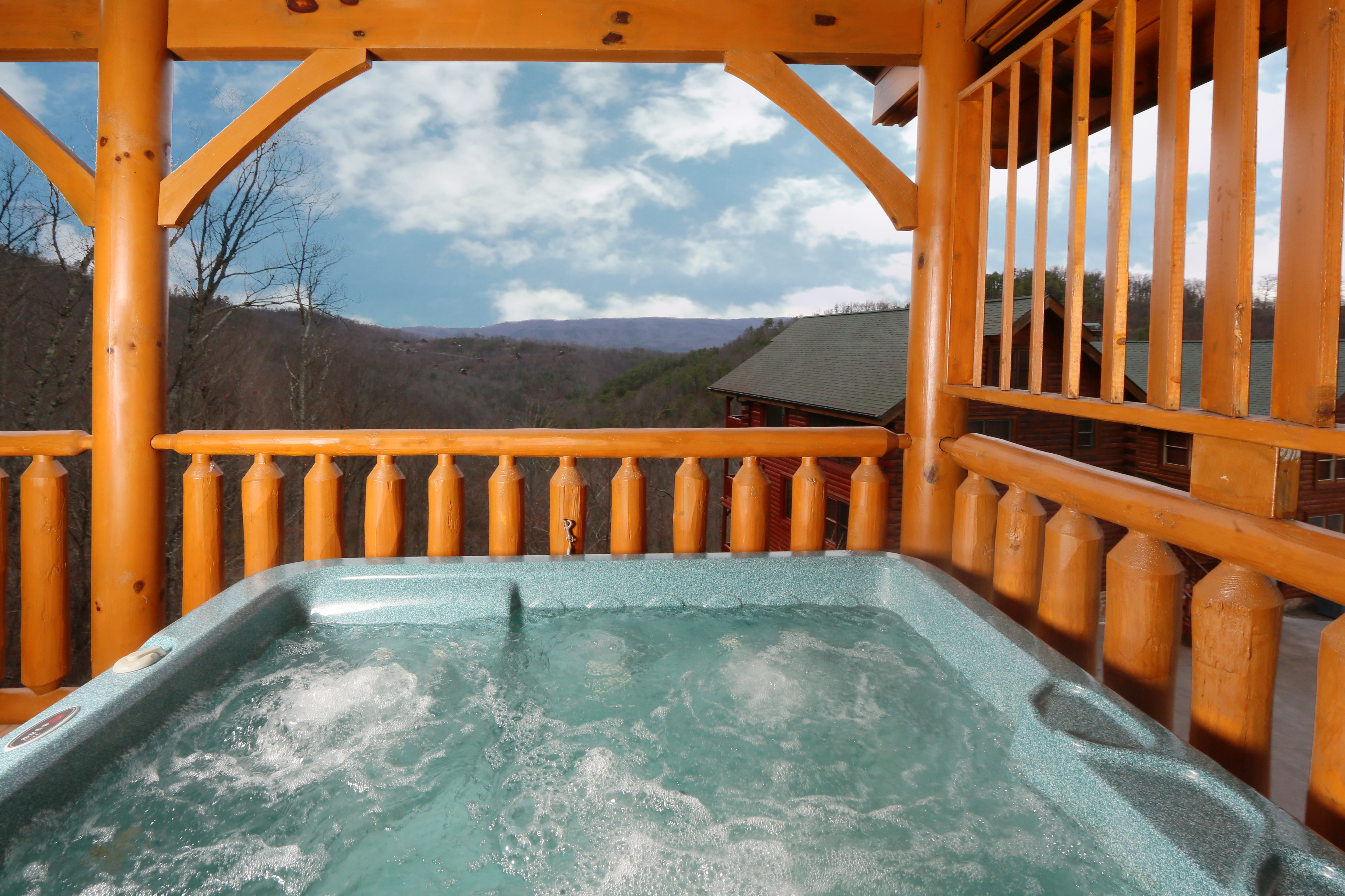 near tennessee resort style cabin in manor indoor with view at cabins located pool amazing gatlinburg bedroom