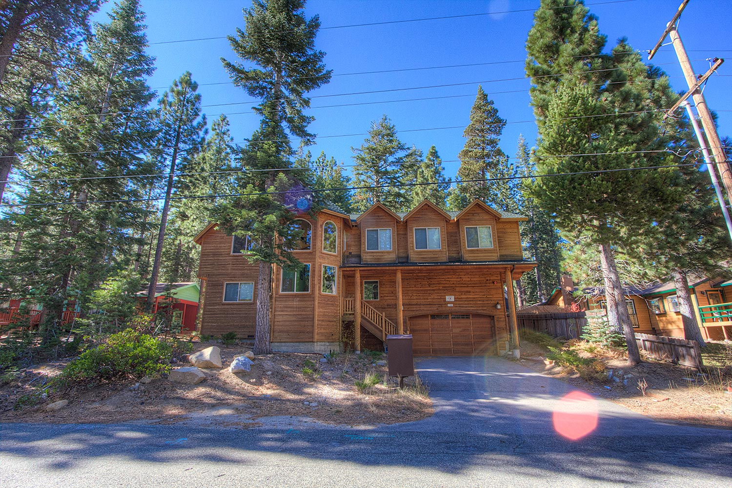 Awesome 6 bedroom south lake tahoe home ra693 redawning for Rent a cabin in lake tahoe ca