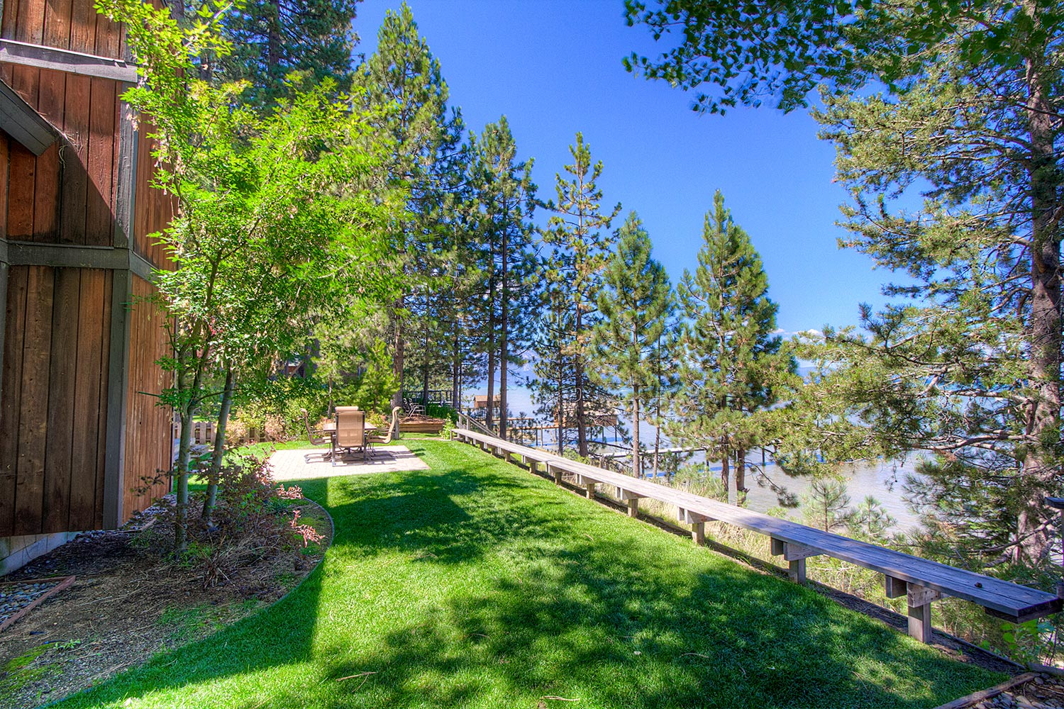 old buoy lake cabins rentals on the cove water beachfront lakefront rental cabin zephyr tahoe