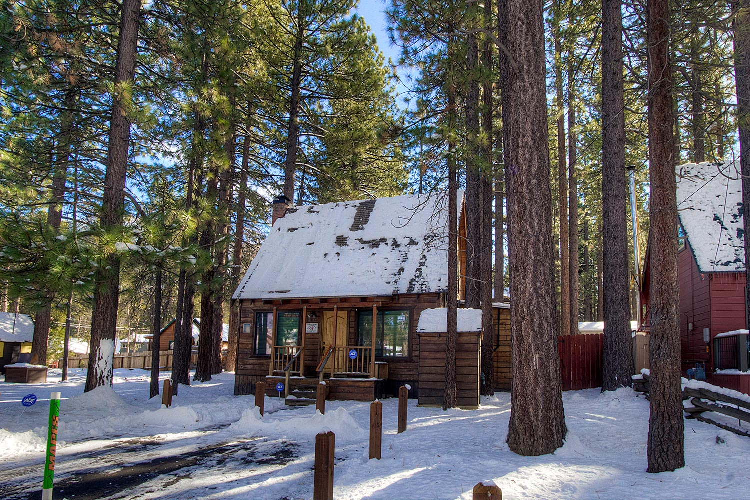 ca cabins south near cheap lake dog rentals friendly cabin tahoe in