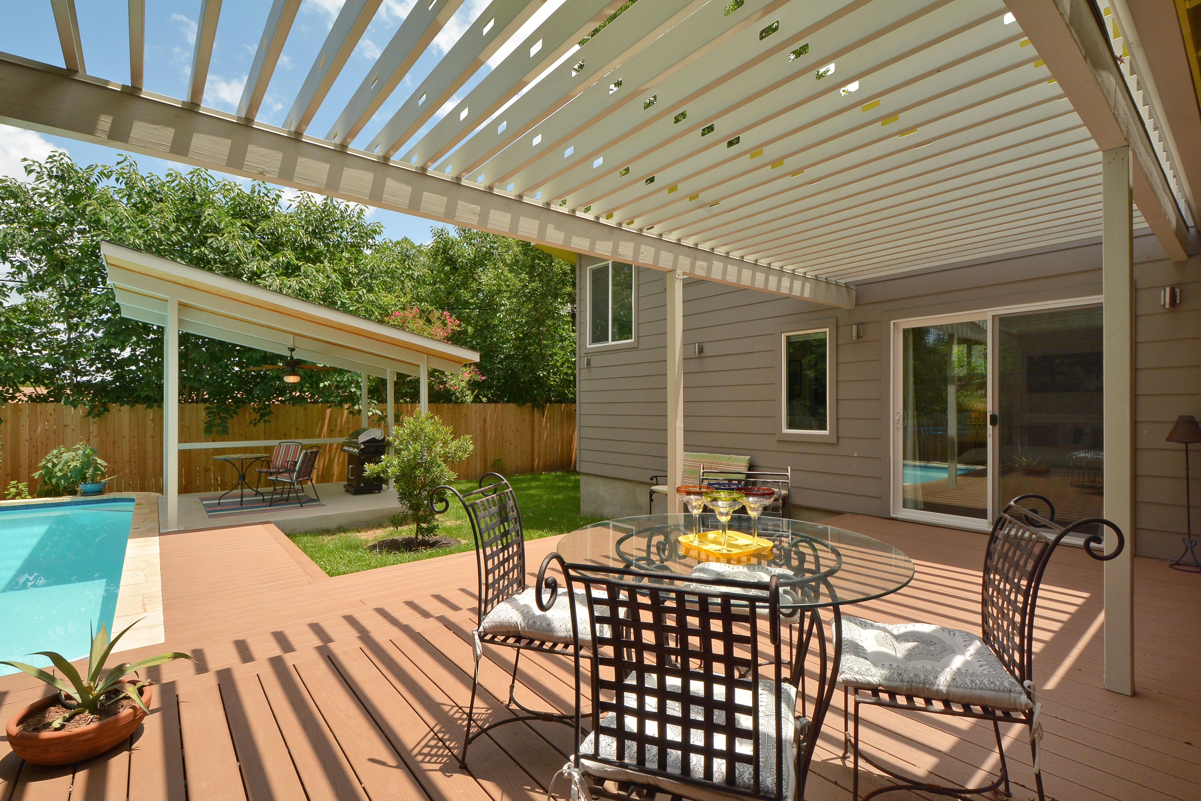 4BR3BA Butterfly House with Private Pool in Central Austin