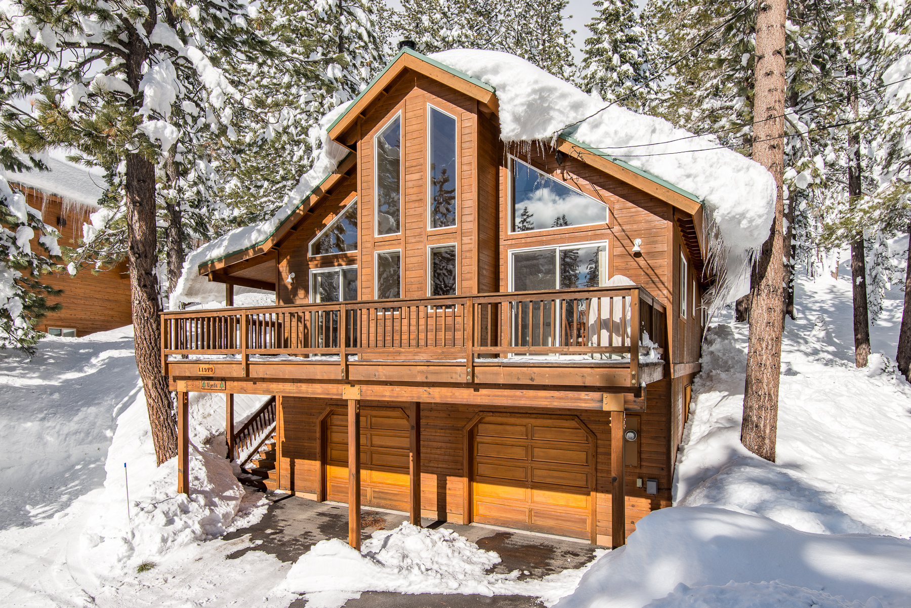 boat property and destination rustic details cabin rentals with hot cabins in vacation tahoe tub dock