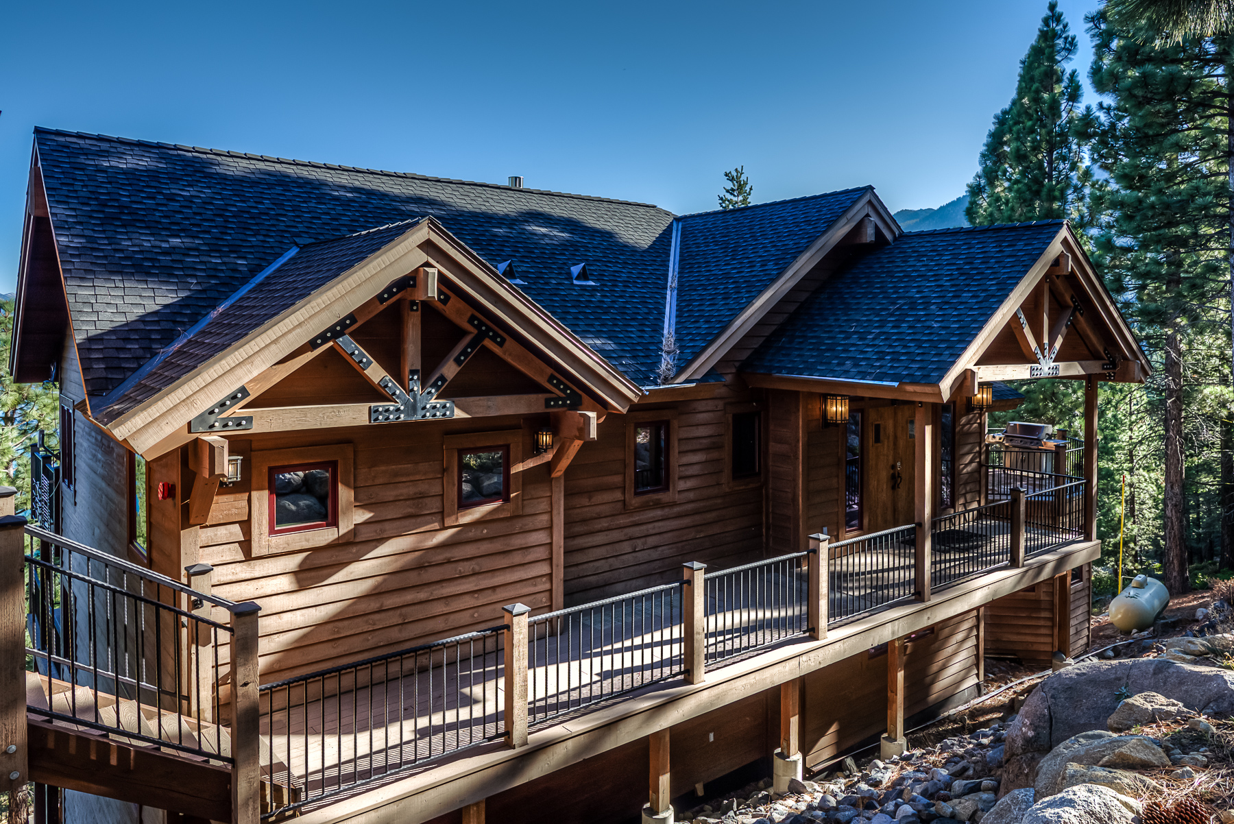 north pin shore cabins construction nsm home rent lake built tahoe by custom for