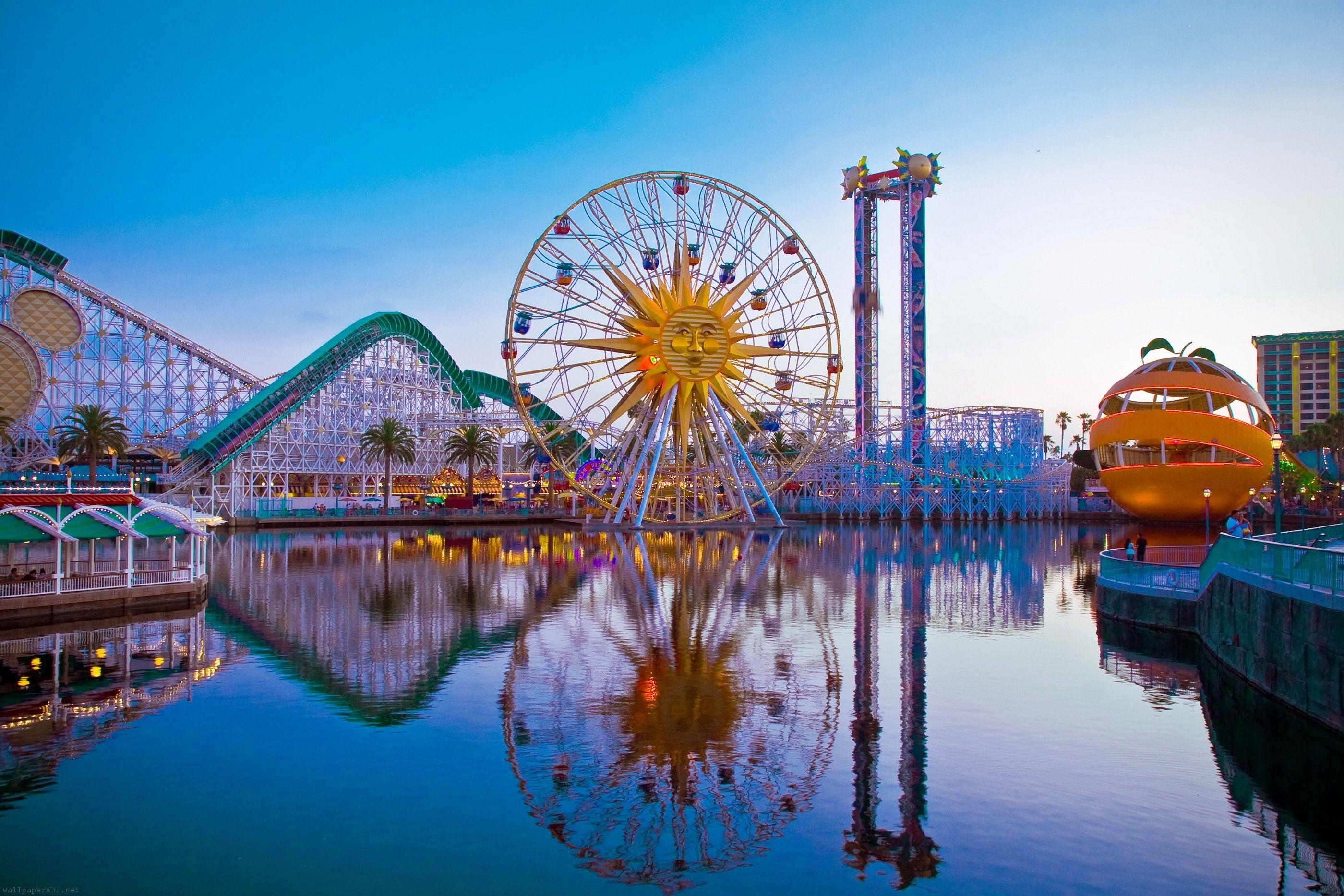 Disneyland Park Map In California Map Of Disneyland Anaheim Map - Disneyland usa location map