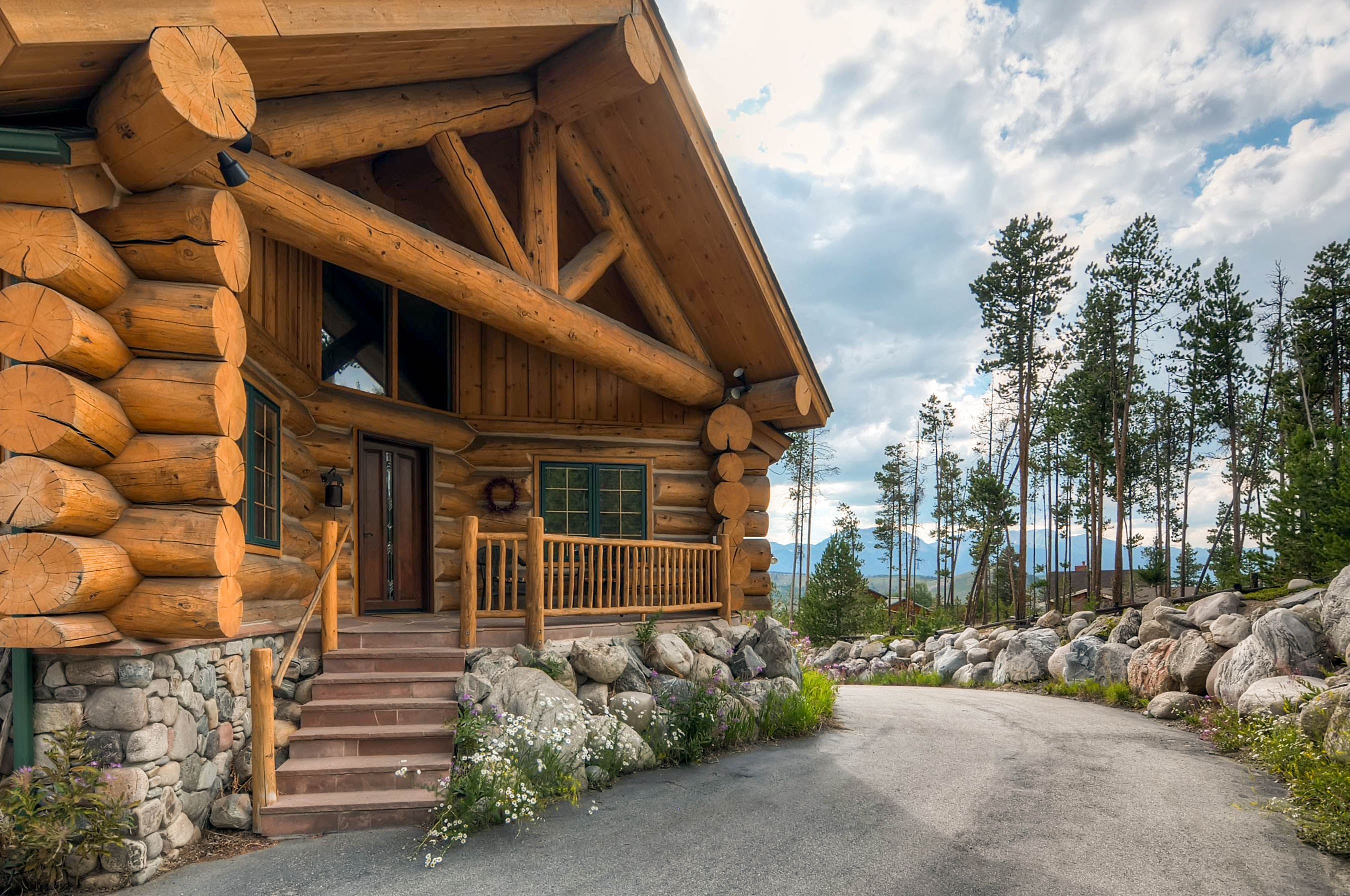 serenity the vacation branson west cabin log usa for rentals cabins missouri rent