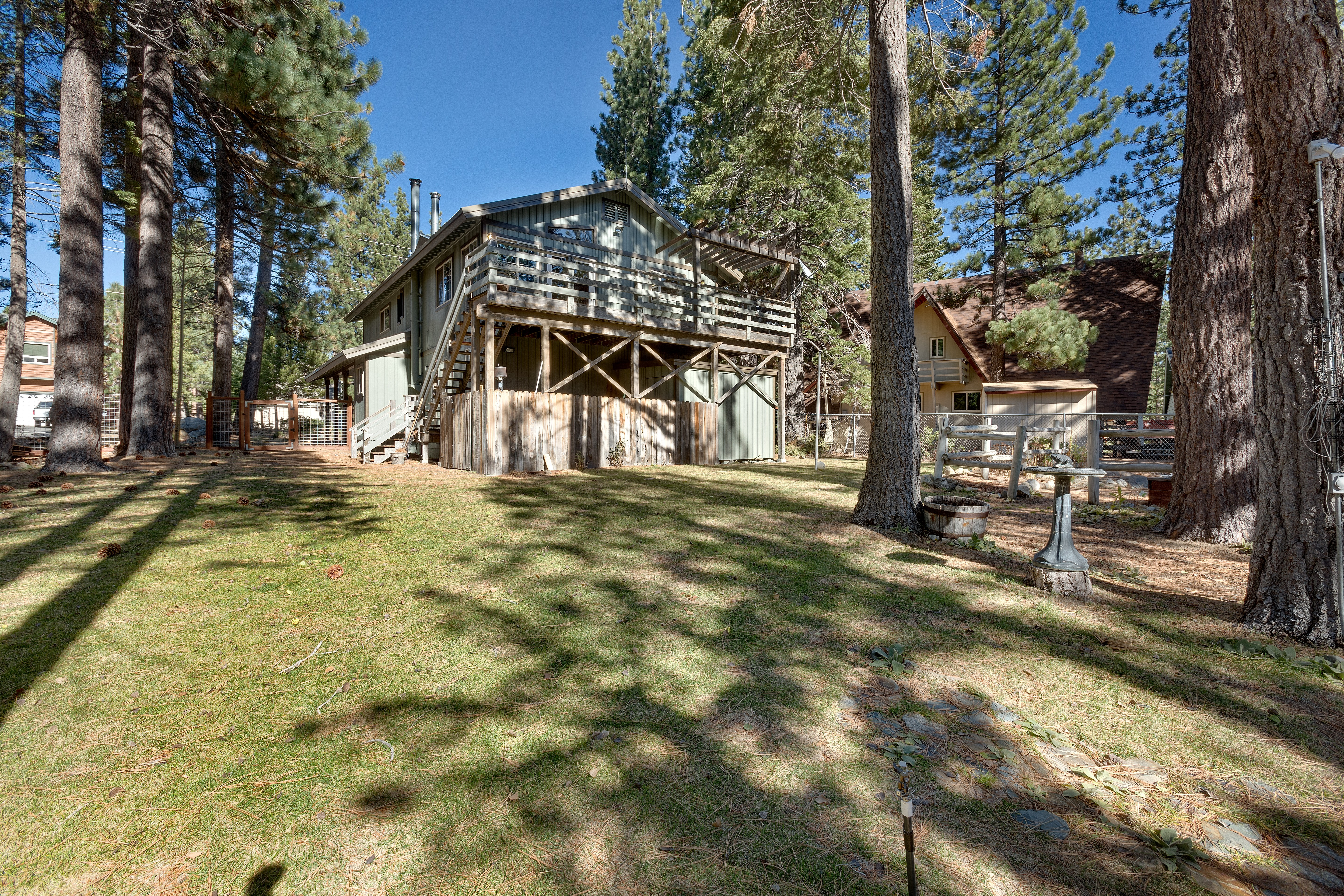 the lake rental property vacation pines ca redawning cabins cabin in tahoe south