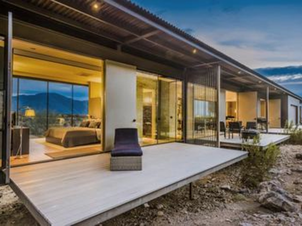 Glass & Steel House at Indian Head Vacation Rental in San Diego County -  RedAwning