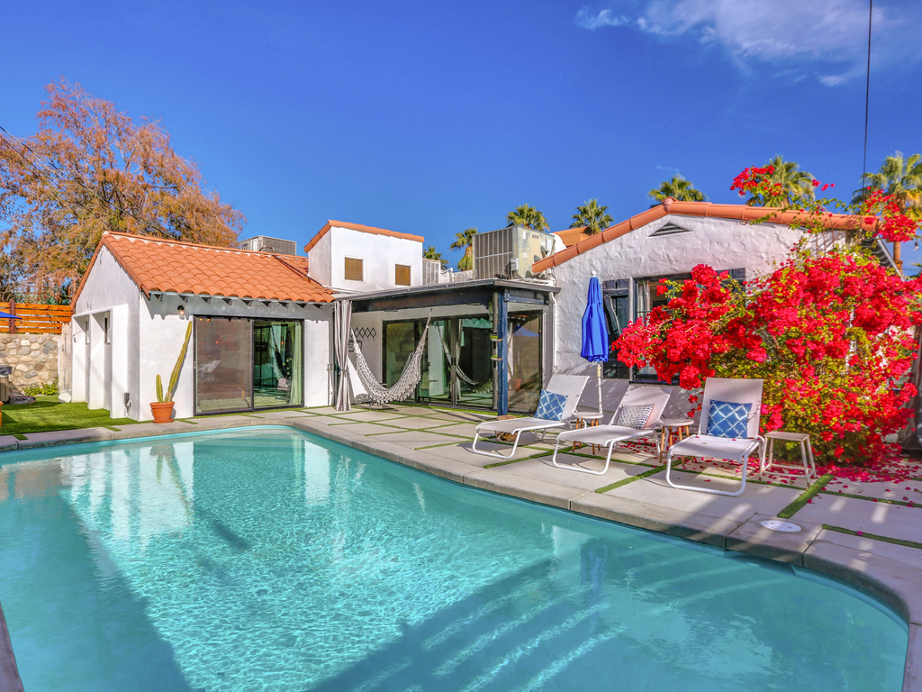 value=3BR/2BA pool/ Above ground Spa/Patio In Palm Springs
