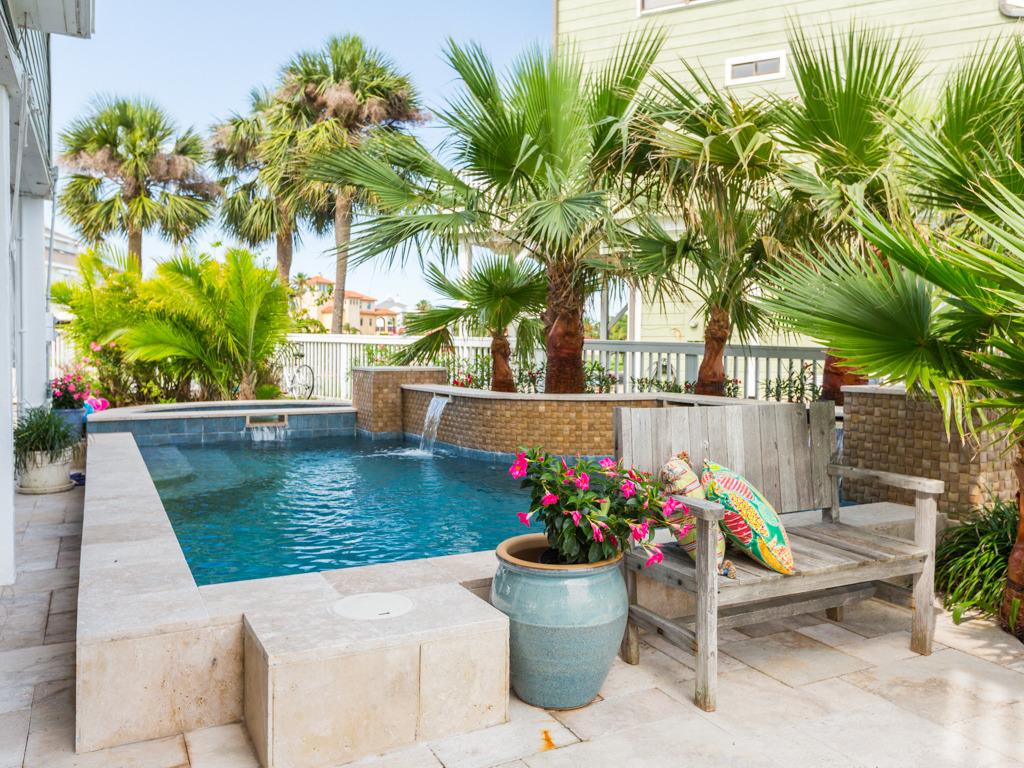 Galveston C House With Pool Ra89352 Redawning Beachfront Getaway Texas Beach Home Resort Vacation Als