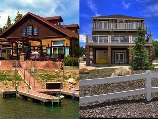 Two Adjacent Lakefront Homes on Beautiful Boulder Bay