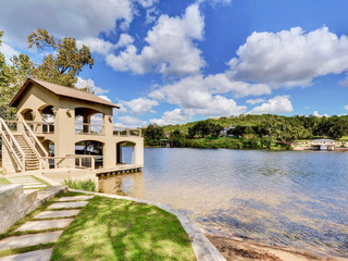 Lakefront Austin Home with Dock