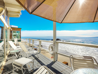 2BR, 2BA Beachfront Home w/ Panoramic Ocean Views