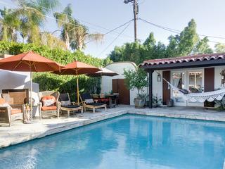 Hacienda-Style Palm Springs Home