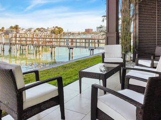 Upscale 3BR Condo w/ Hot Tub, Pool & Waterway View
