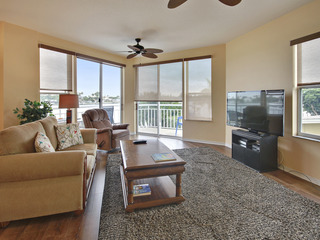 Amadeus #5-Awesome water views/Private balcony/Walk to Beach!
