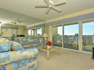 Land's End 406 building 7 Beachfront with PRIVATE Balcony!