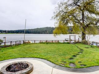 Lakefront Escape w/ Hot Tub & Private Dock