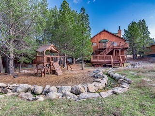 3BR w/ Deck & Backyard Creek