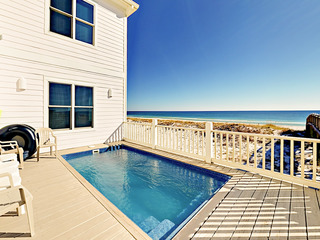 Beachfront 7BR w/ Private Pool & Outdoor Shower