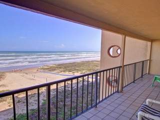 Top-Floor Beachfront Condo w/ Balcony & Pool!