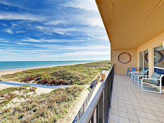 Beachfront 2BR w/ Vast Gulf Views