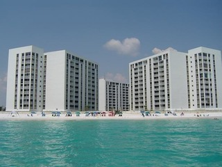 FREE BEACH SERVICE- Shoreline Towers 3112 Beach Front