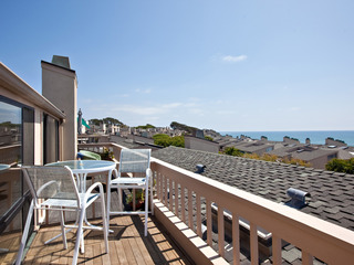 Just Beachy! 2 BR/2.5BA Oceanview Condo- Seascape Sur #143