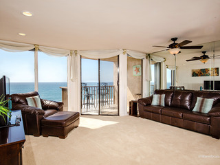 Panoramic Ocean Views! 1BR Oceanfront Condo DMST21