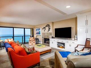 2BR Deluxe, Oceanfront Condo SUR61- BEACH YOU TO IT!