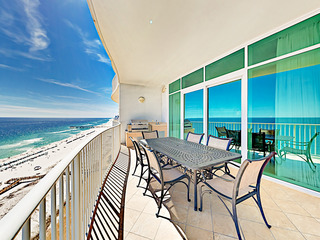 Beachfront 3BR/3.5BA- Hot Tub & Gulf-View Balcony