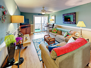 Oceanfront 2BR w/ Private Balcony