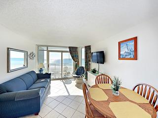 Beachfront 1BR w/ Balcony & Pool