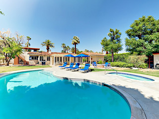 3BR/3BA Pool/ Child friendly backyard in Palm Springs