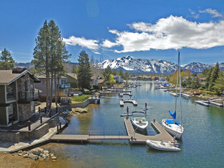 Tahoe Keys 5BR w/ Hot Tub & Dock